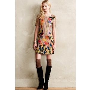 Anthropologie Troubadour Bloomline Dress